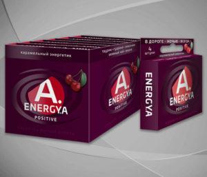 Карамельный энергетик «ENERGYA POSITIVE» с перцем чили